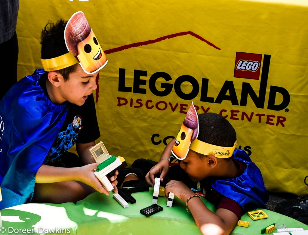Legoland, Superhero Day at Easton Town Center 2019