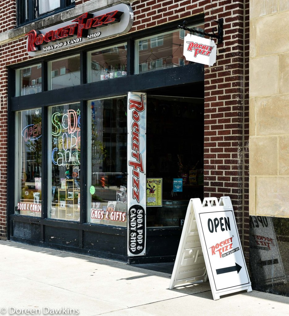 Rocket Fizz (soda pop and candy shop), 944 North High Street, Columbus, OH 43201