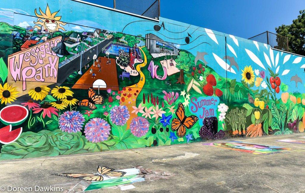 Summer Jam West Mural 2019