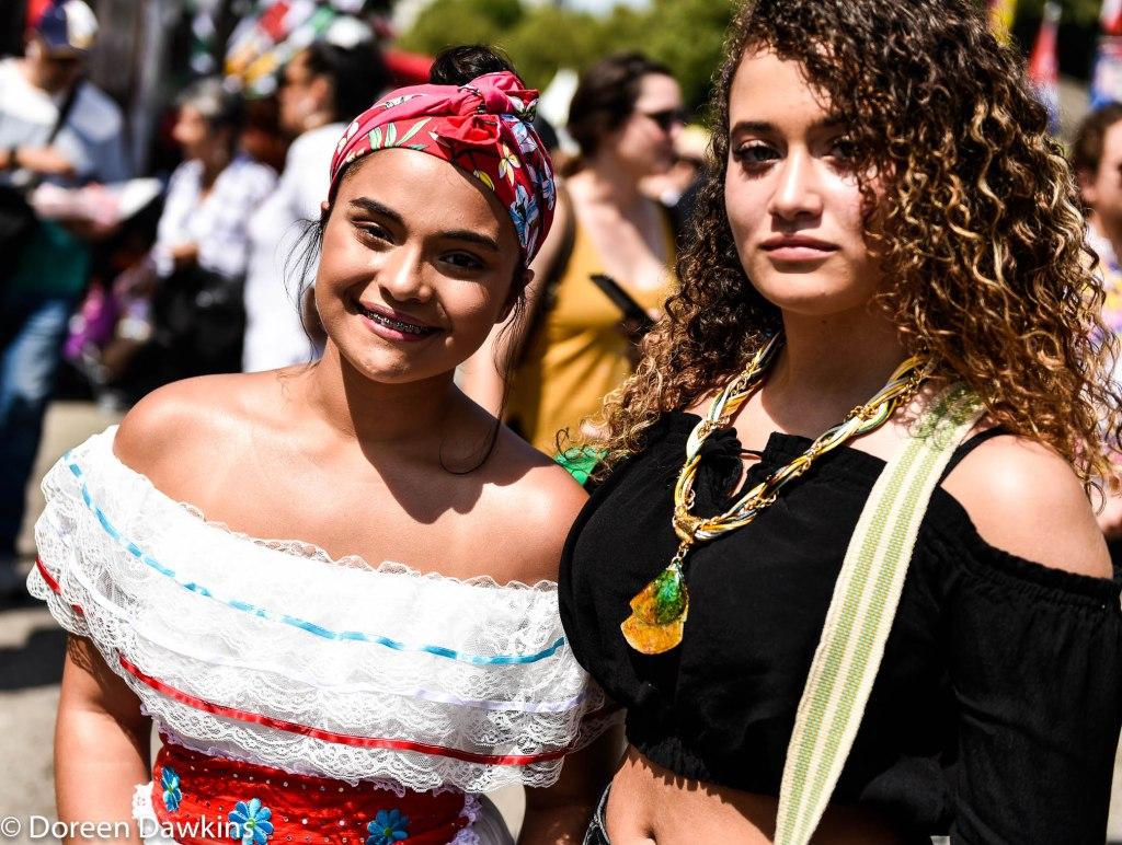 Styling a Plena dress, Festival Latino 2019