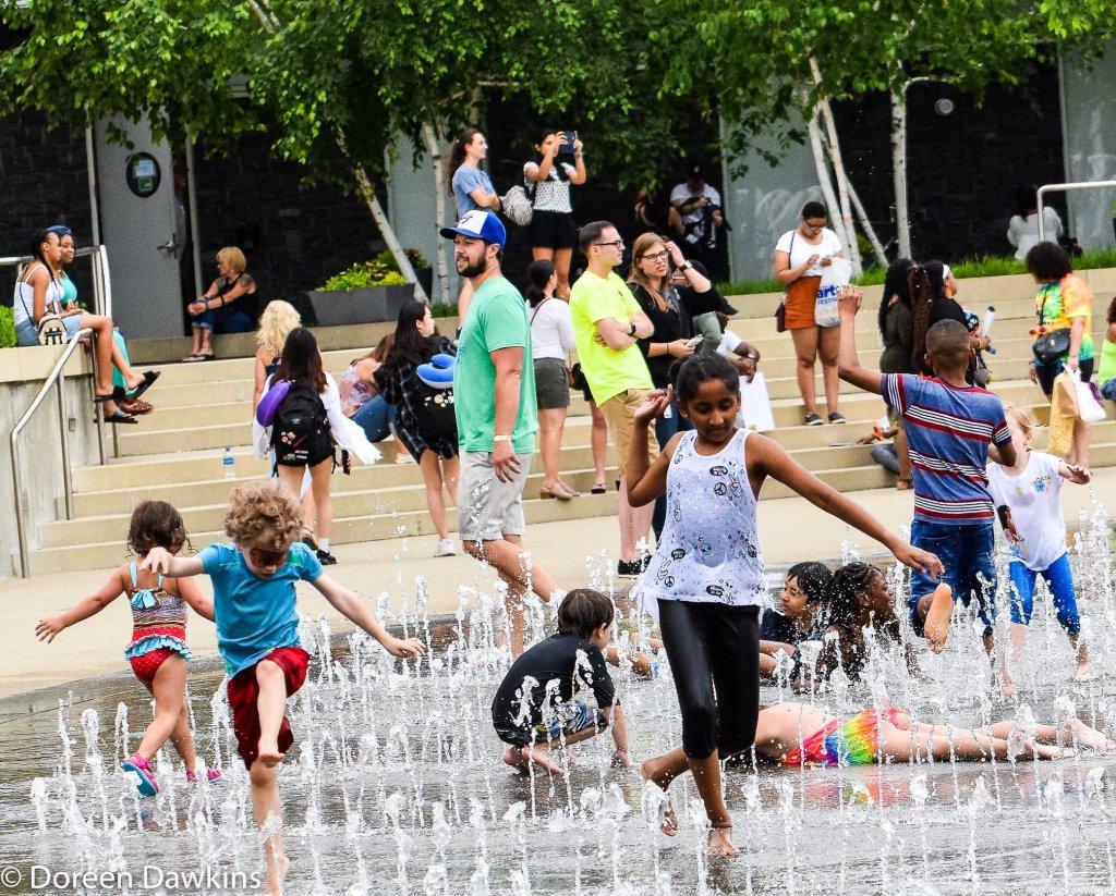 More Water Fun at the Columbus Arts Festival 2019