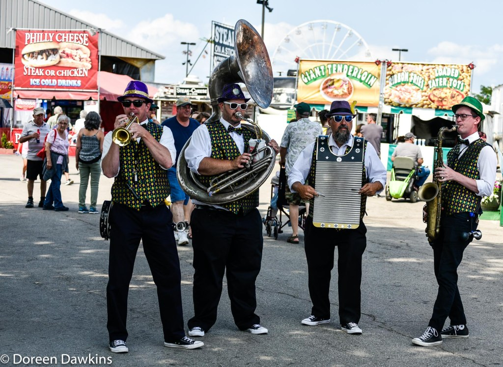 New Basis brass band, Ohio State Fair 2019