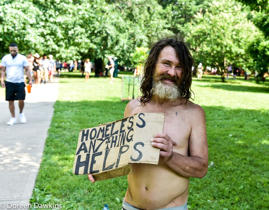 Homeless, Comfest 2019