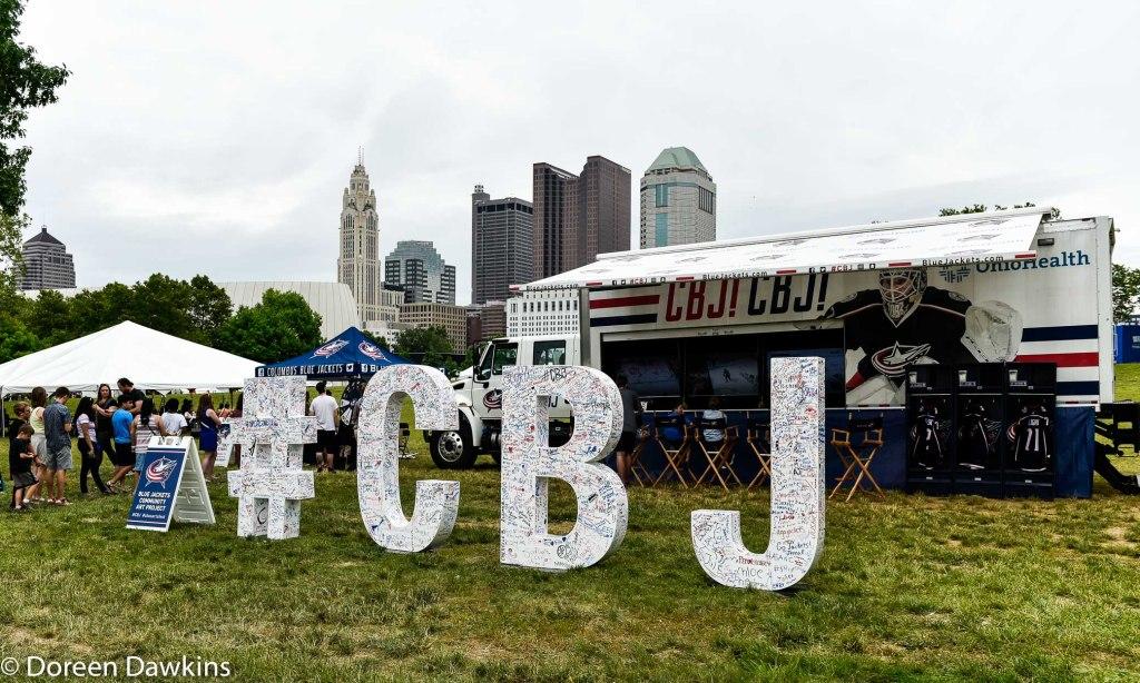 #CBJ Display, Columbus Arts Festival 2019