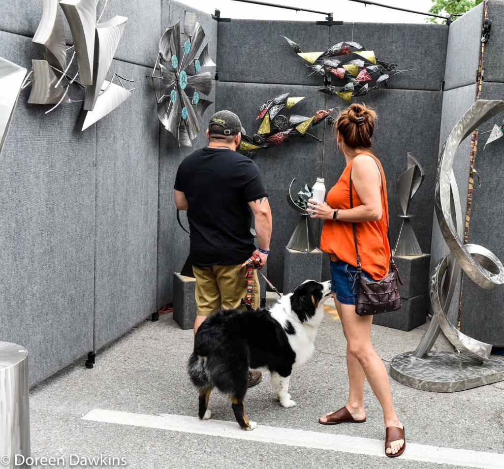 Pet Family #1, Columbus Arts Festival 2019