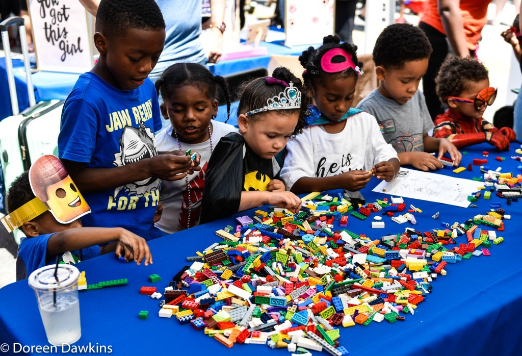 Building and Creating, Superhero Day at Easton Town Center 2019