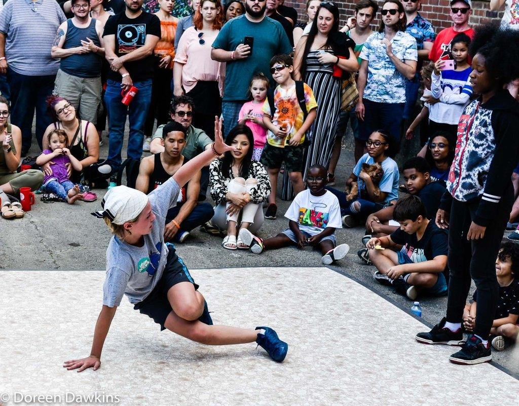 Dancing at Urban Scrawl 2019