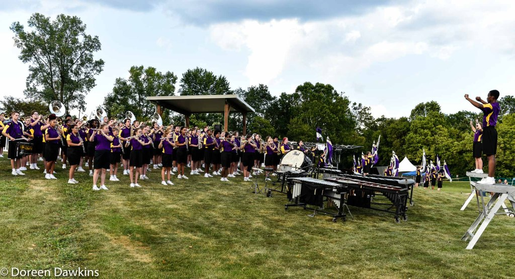 Reynoldsburg High school marching band, Reynoldsburg Tomato Festival 2019