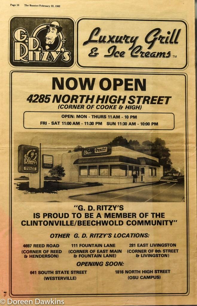 G.D. Ritzy's, then…