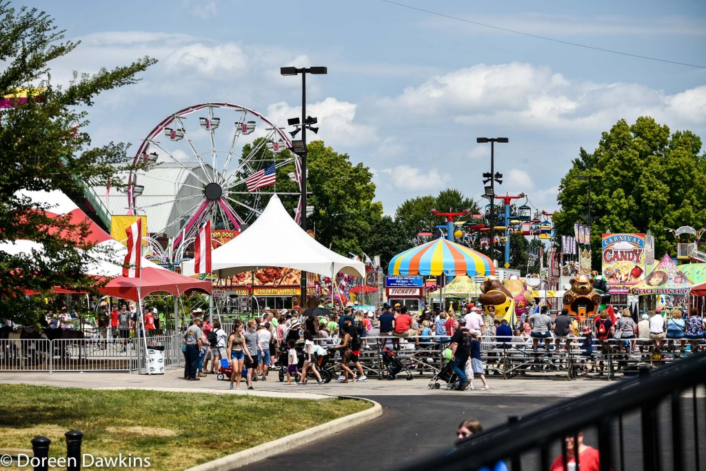 A ride (ferris wheel), Ohio State Fair 2019