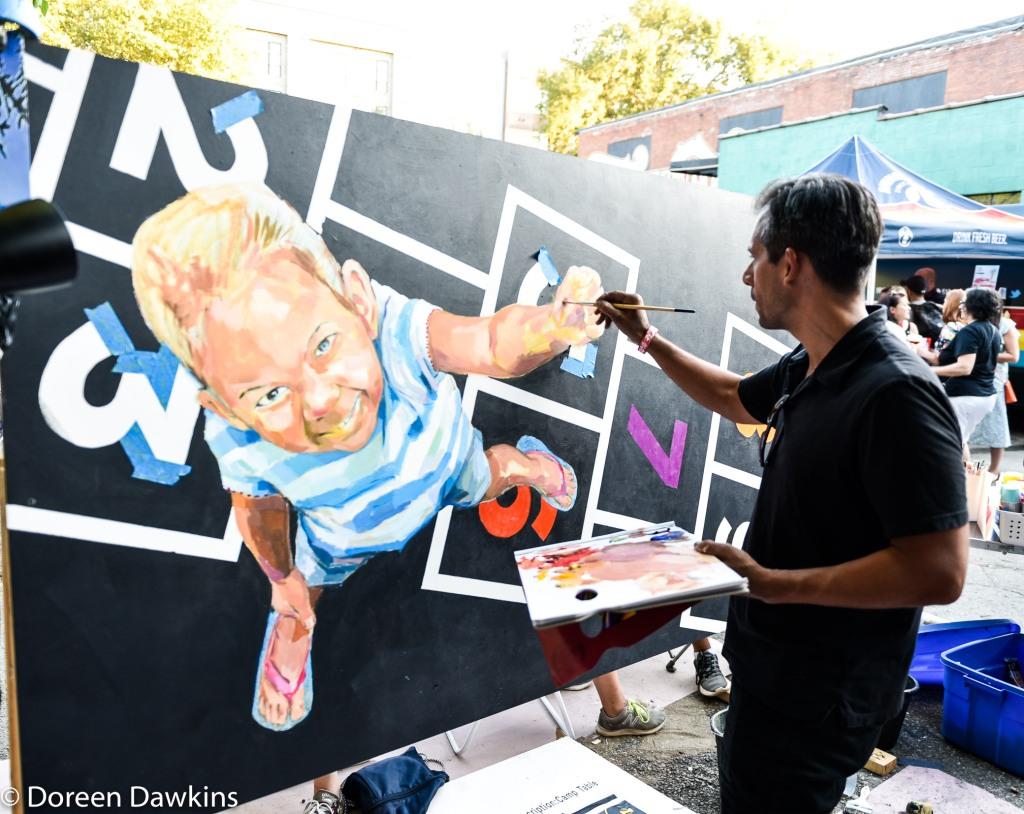 Artist Jeremy Rosario