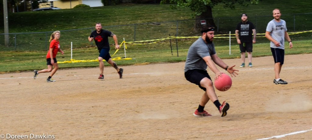 Rusty Edwards of Reynoldsburg Church of Christ, Holy Tomato Kickball, Reynoldsburg Tomato Festival 2019