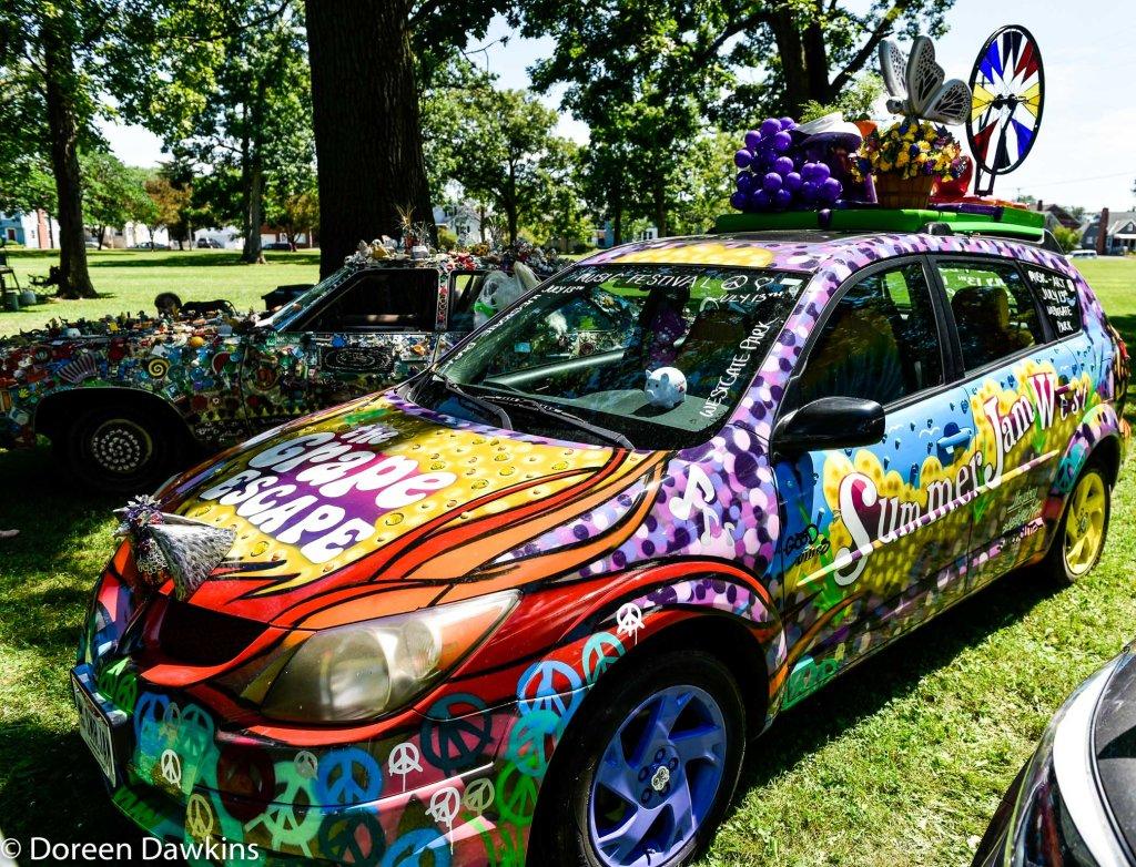 Summer Jam art car, Summer Jam West 2019