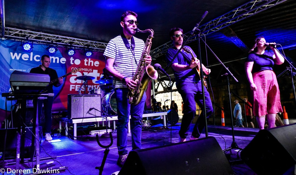 Local band, Columbus Arts Festival 2019