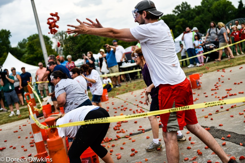 Tomato War, Reynoldsburg Tomato Festival 2019