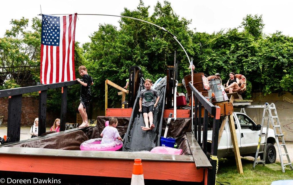 Water fun at the Columbus Arts Festival 2019