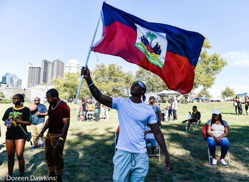 Cayman enjoying the Columbus Caribbean Festival 2019