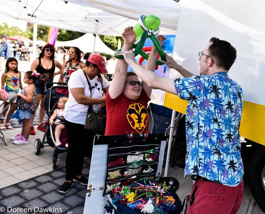 Inflating Clayton, Festival Latino 2019