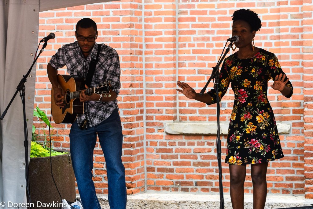 Rose Onyeneho of Starlitways at the Columbus Arts Festival 2019