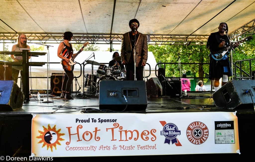 Dougie Simpson and the Faith Band at Hot Times Festival 2019