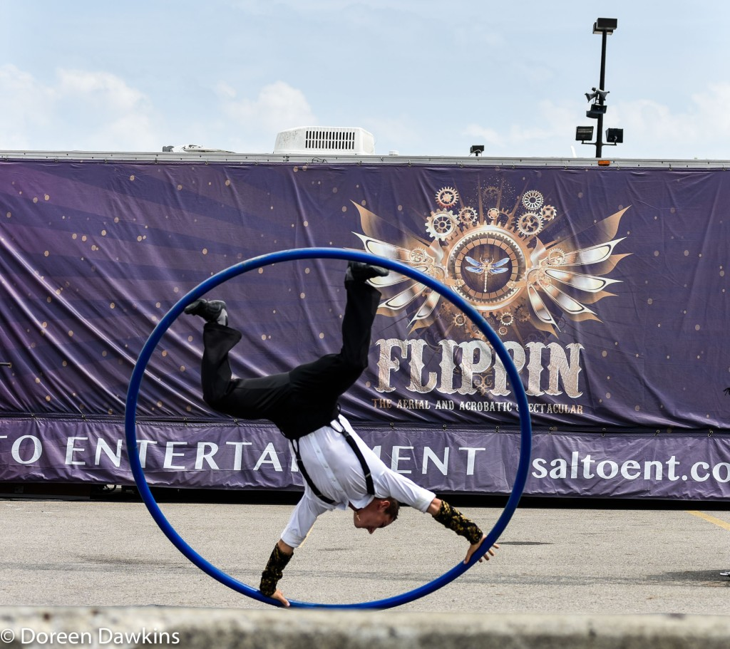 Flippin' – The Aerial and Acrobatic Spectacular, Ohio State Fair 2019