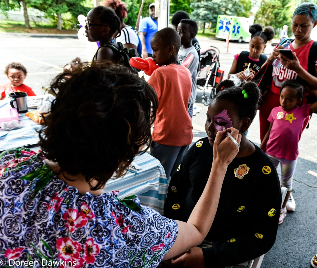 Face painting, The Ohio State University Wexner Medical Center Healthy Community Day
