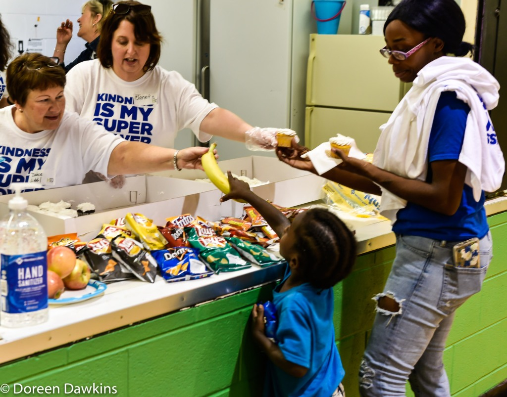 Who is hungry?, Harmony Project at Sullivant Gardens Community Center