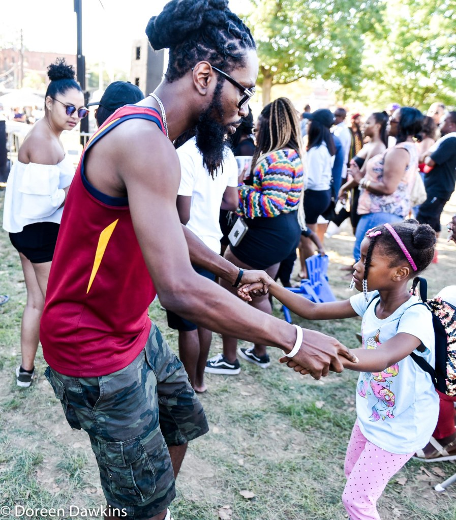 Dancing at all ages at the Columbus Caribbean Festival 2019