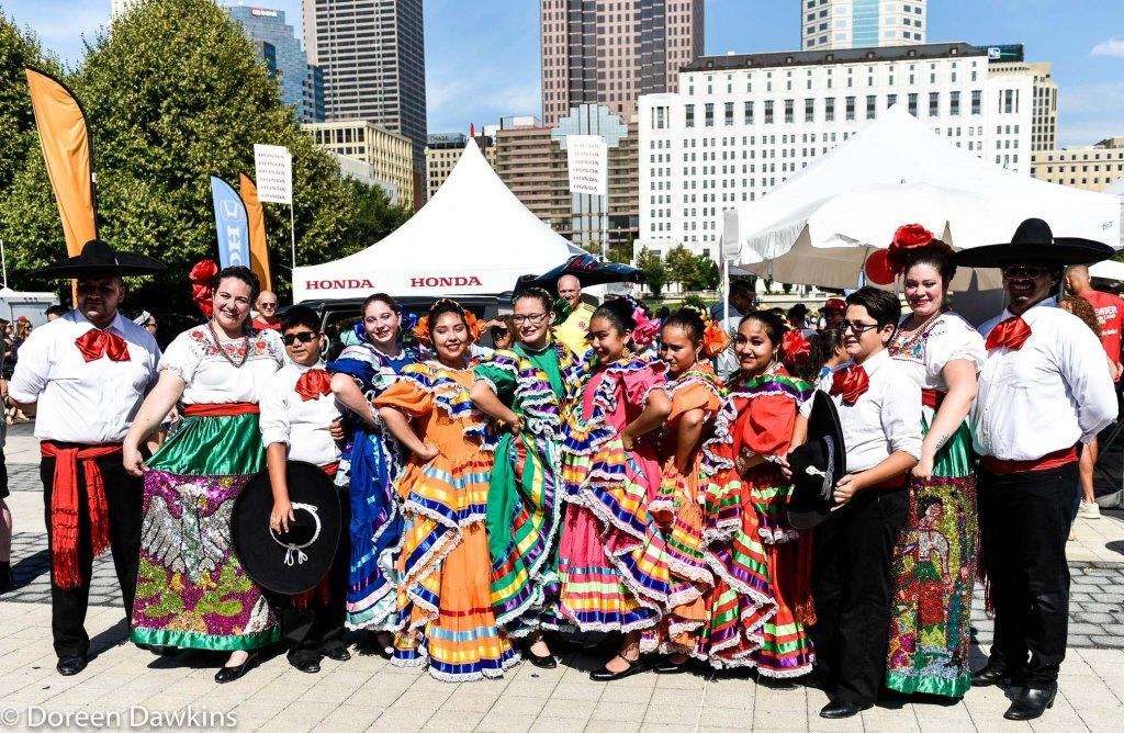 El Corazon de Mexico, Mexican folkloric Dance Company, Festival Latino 2019