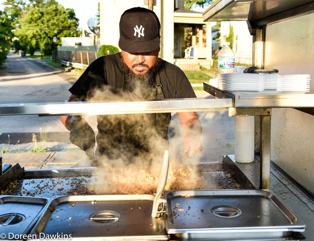 Kosal co-owner of Blasian Grill (FB @BlasianGrill), Trap Yoga and Food Trucks