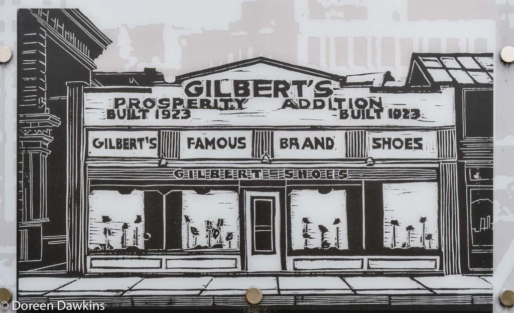 Gilbert's Shoes, Long Street Cultural Wall