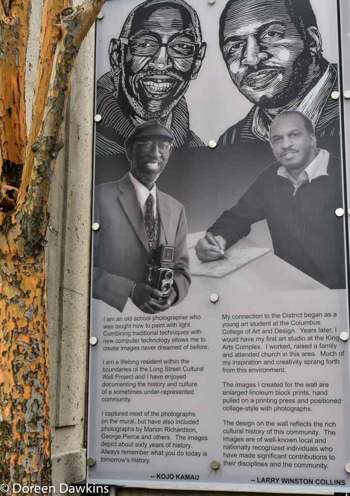 Kojo Kamau and Larry Winston Collins, Long Street Cultural Wall