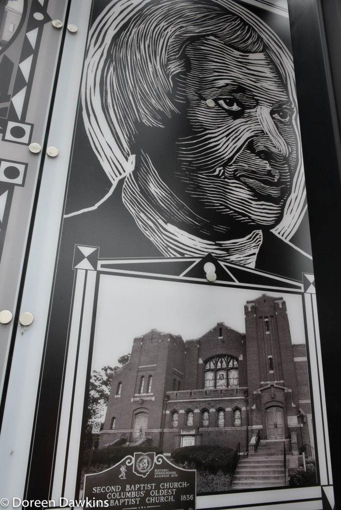 Rev. James Poindexter, Long Street Cultural Wall