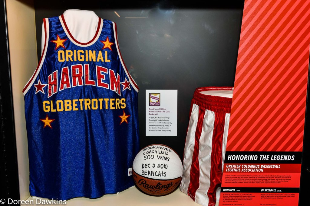 Brookhaven Woman's Basketball coach Reggie Lee 500 win ball, Ohio-Champion of Sports