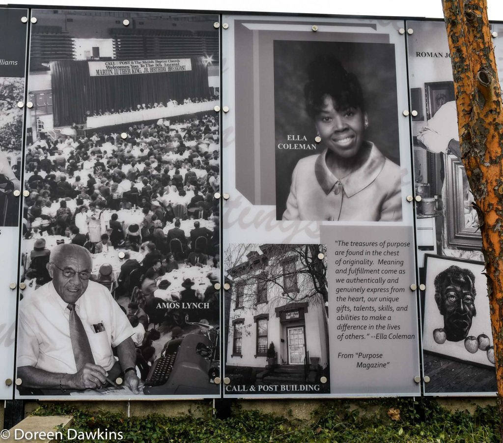 Call & Post, Amos Lynch and the Dr. Martin Luther King Jr. breakfast, Long Street Cultural Wall