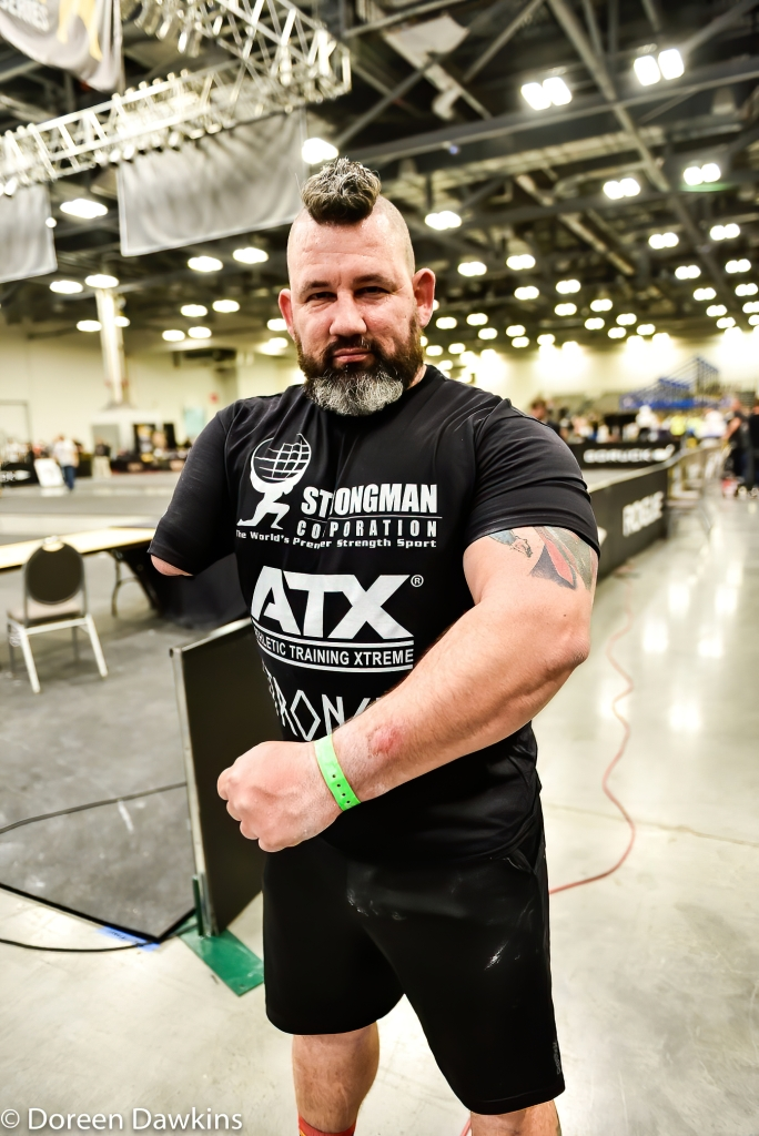 Arnold Sports Festival 2020 Disabled Strongman One Arm Deadlift World Record holder, Mike Diehl
