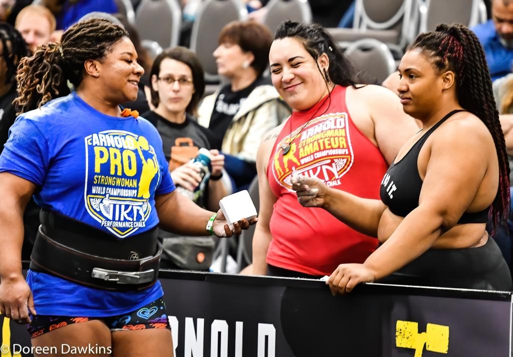 Pro Strongwoman Andrea Thompson, Arnold Sports Festival 2020