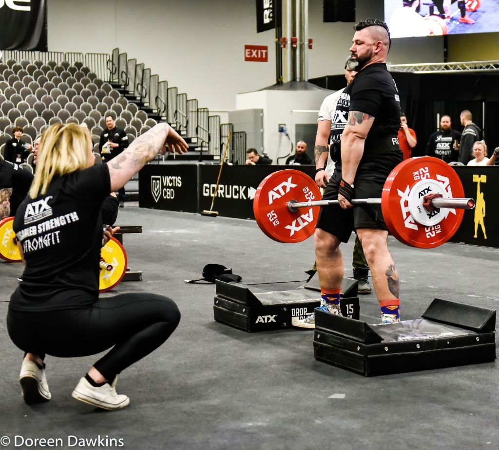 Disabled Strongman One Arm Deadlift World Record holder, Mike Diehl, Arnold Sports Festival 2020