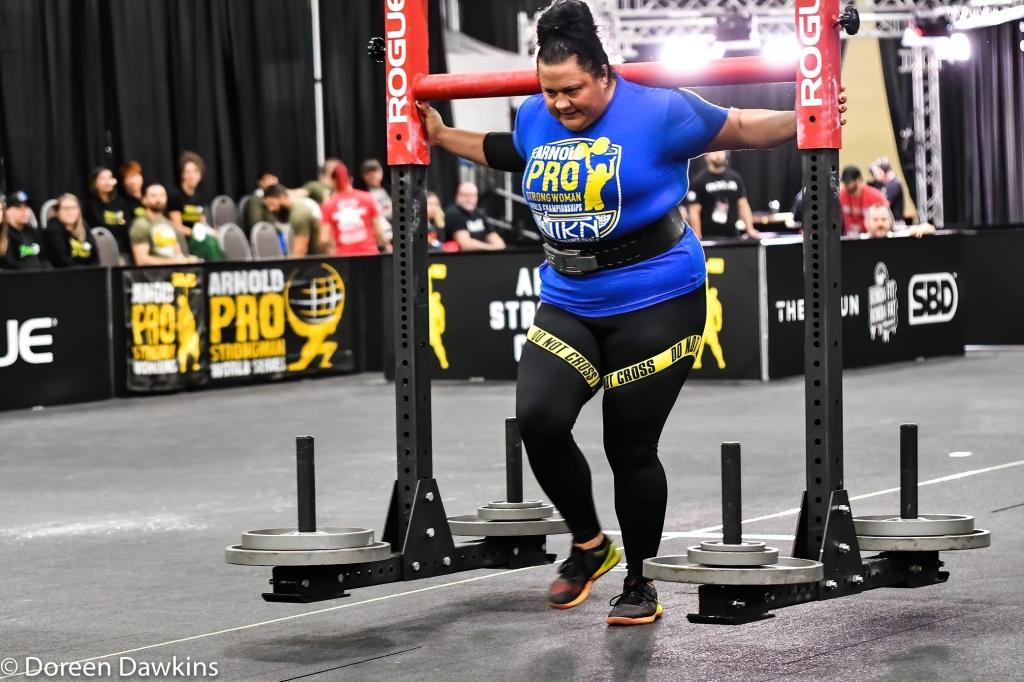 Pro Strongwoman Brook Sousa, Arnold Sports Festival 2020