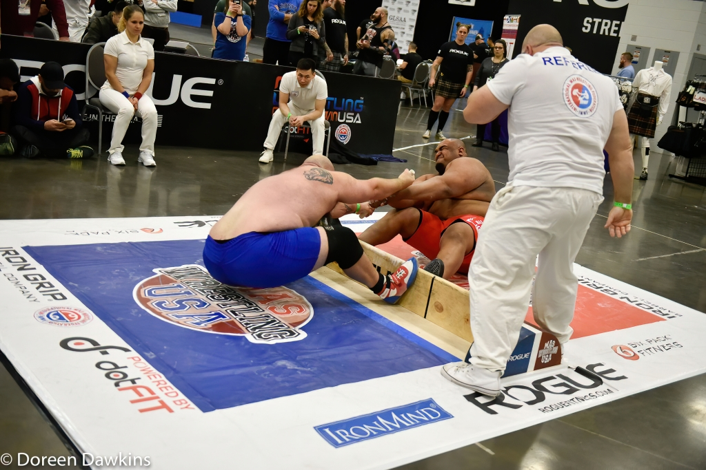 MAS Wrestler Ulice Payne competing at the Arnold Sports Festival 2020