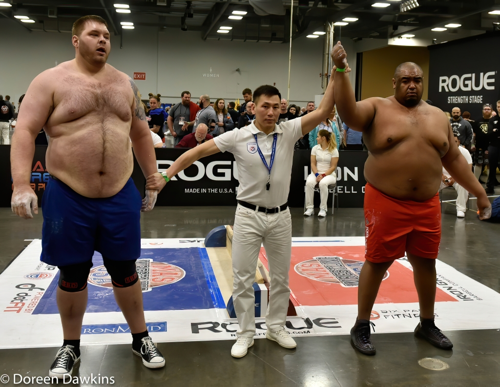 MAS Wrestler Ulice Payne determined the Heavyweight Champion at the Arnold Sports Festival 2020