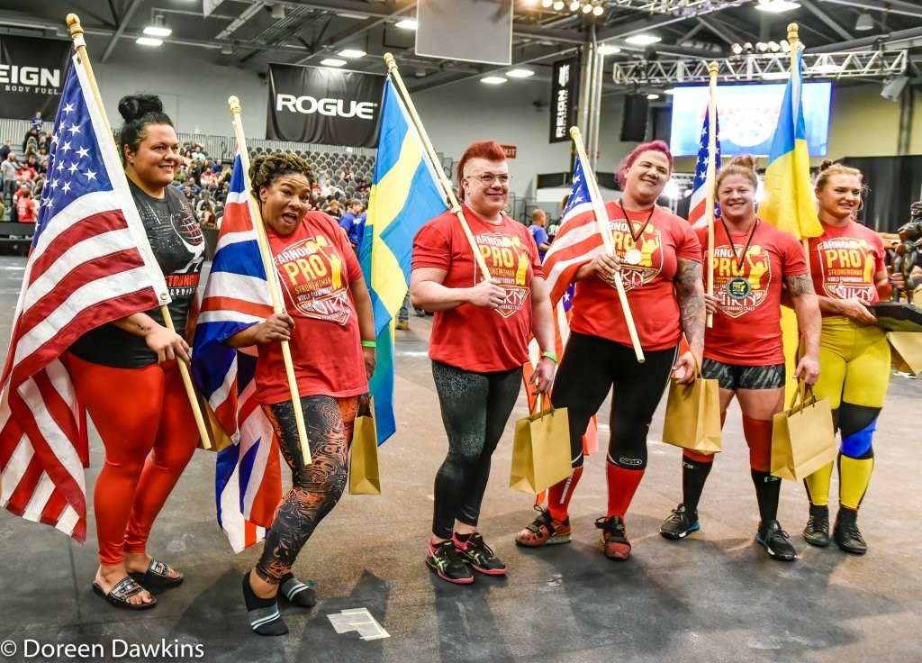 It is finished! Pro Strongwoman competition at the Arnold Sports Festival 2020