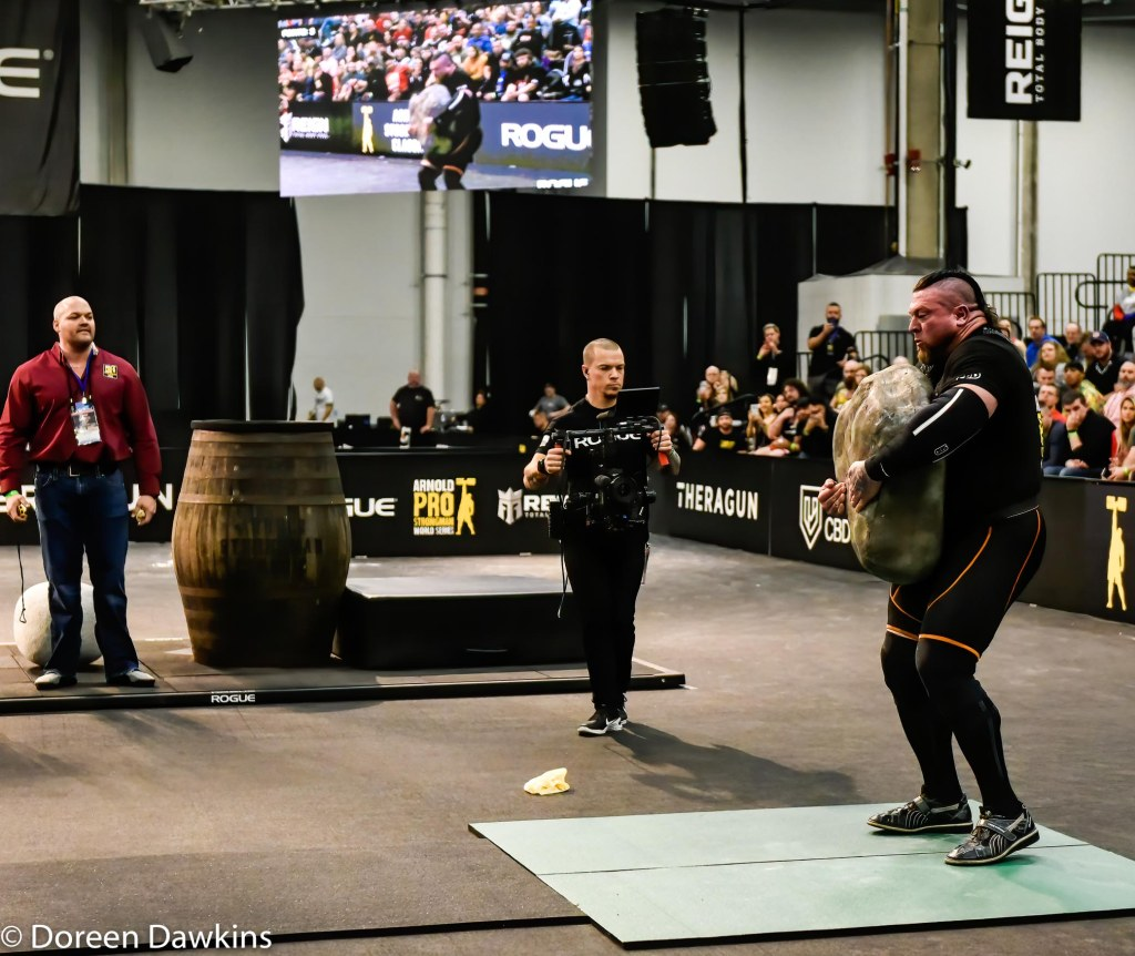 Pro Strongman Jerry Pritchett, Arnold Strongman Classic 2020: Trial by Stone
