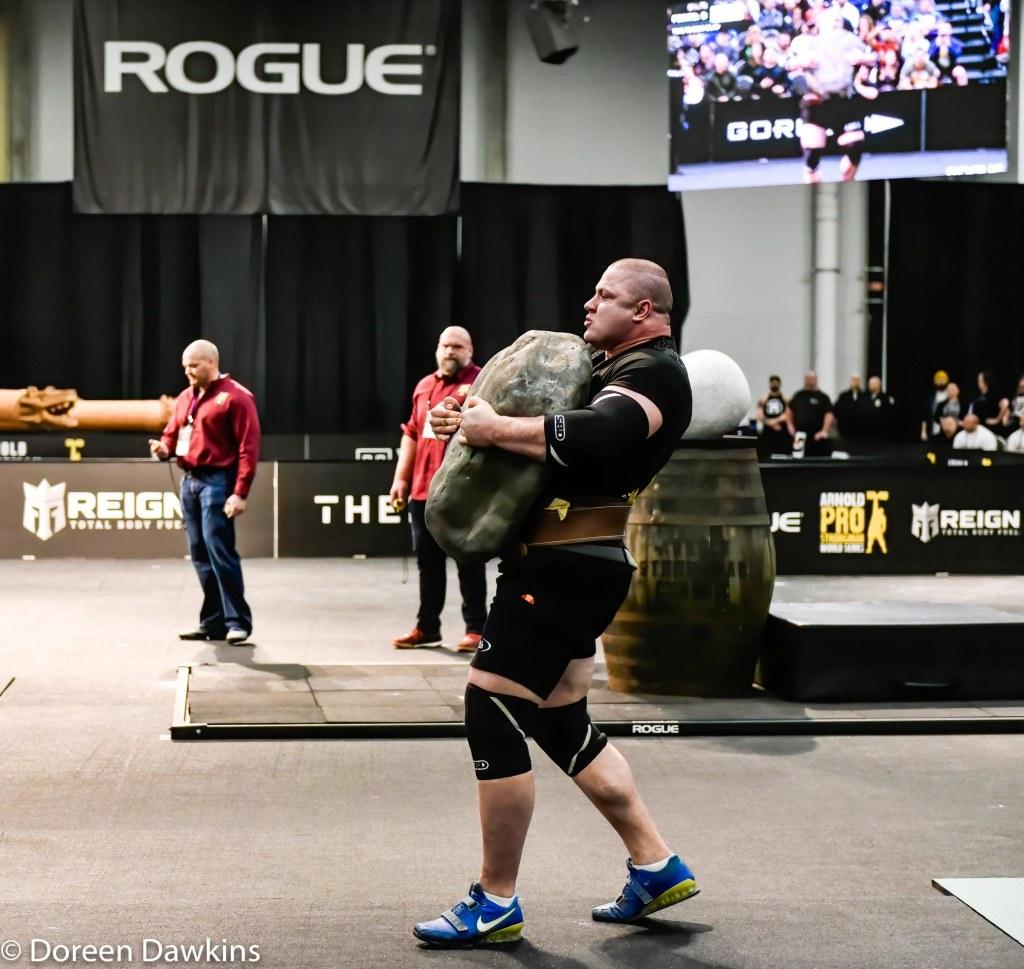 Pro Strongman Mateusz Kieliszkowski, Arnold Strongman Classic 2020: Trial by Stone