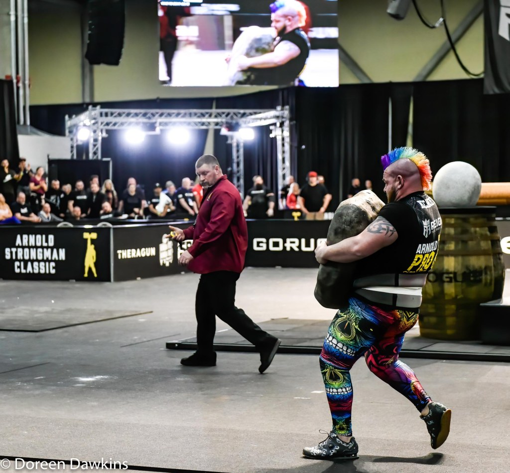 Pro Strongman Rob Kearney, Arnold Strongman Classic 2020: Trial by Stone