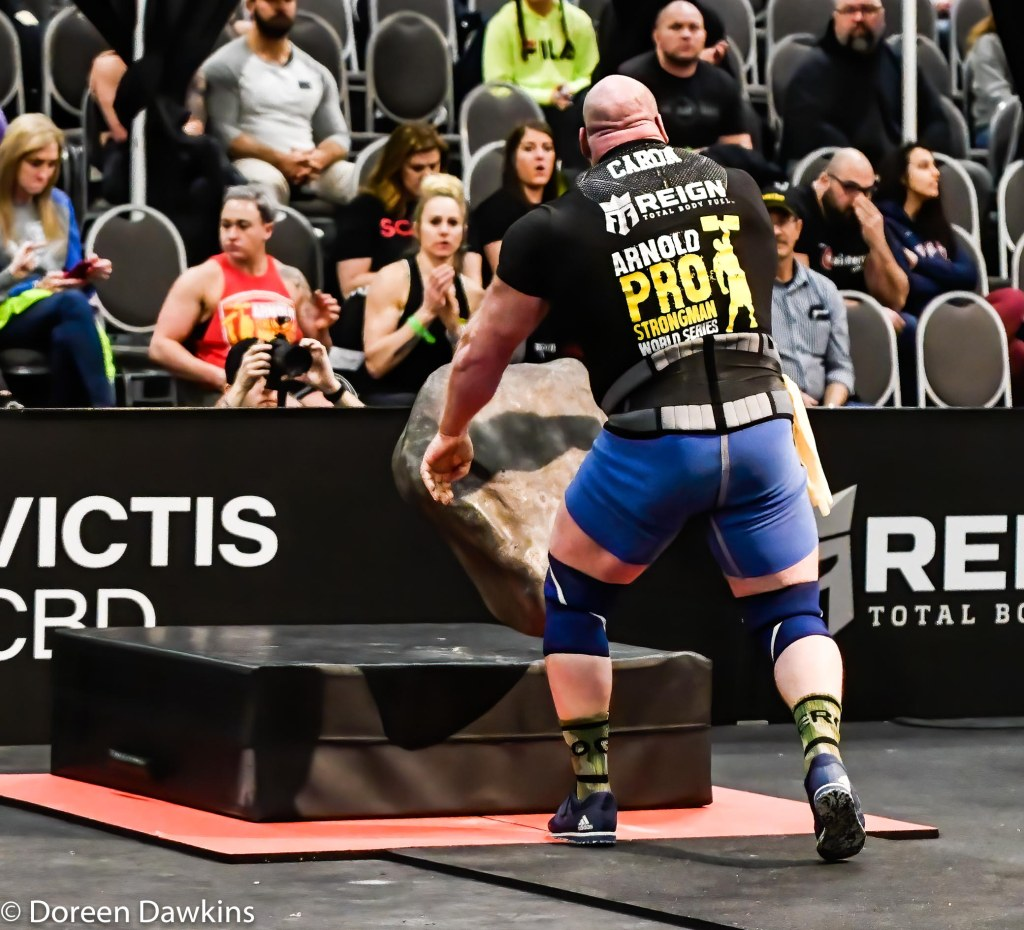 Pro Strongman Jean-Francois Caron, Arnold Strongman Classic 2020: Trial by Stone