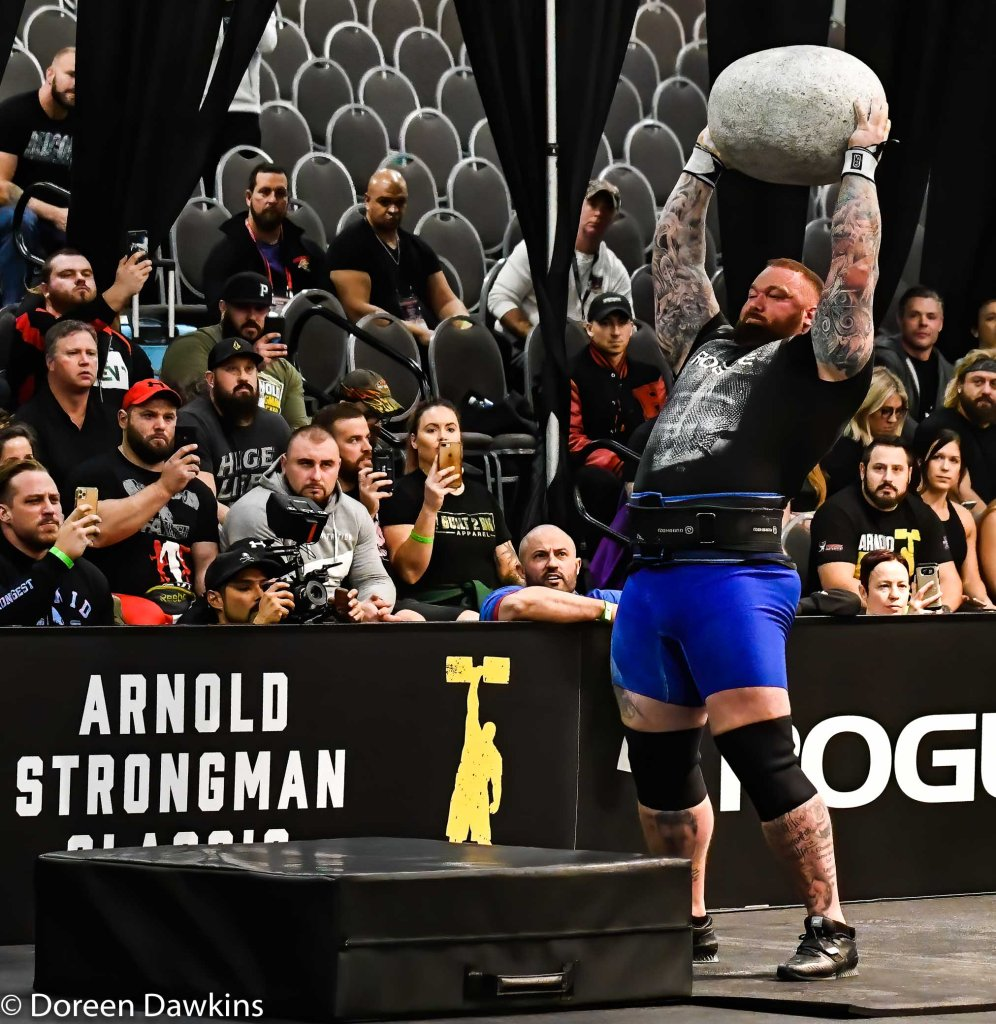 Pro Strongman Hafthor Bjornsson, Arnold Strongman Classic 2020: Trial by Stone