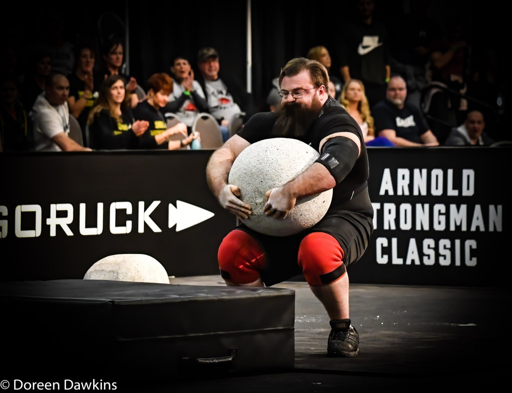 Pro Strongman Bobby Thompson, Arnold Strongman Classic 2020: Trial by Stone