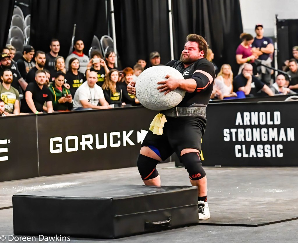 Pro Strongman Martins Licis, Arnold Strongman Classic 2020: Trial by Stone