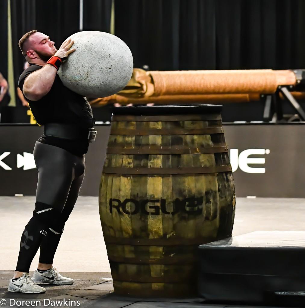 Pro Strongman Olexii Novikov, Arnold Strongman Classic 2020: Trial by Stone